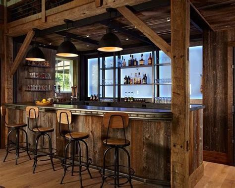 Industrial Chic Home Decor 50 Elegant Industrial Style Home Bar Ideas Industville