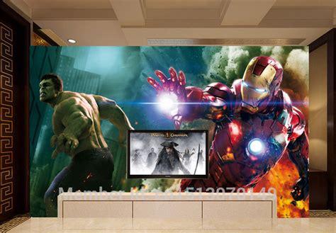 avengers room wallpaper gallery