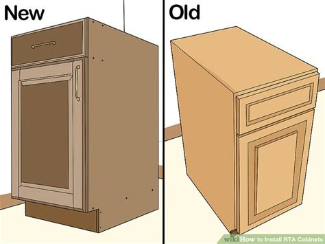 is it hard to install kitchen cabinets how to install rta cabinets 11 steps with pictures