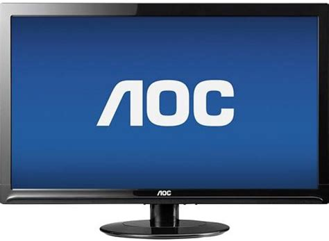 aoc eswd   lcd led monitor specs review