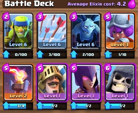 clash royale strategy guide tips for deck building managing gold and elixir and winning