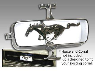 sell ford mustang pony emblem grill c7zz 8213 a nos 1967 67 chrome original oem motorcycle in classic ford mustang grille emblems parts for 1965 1966 1967 1968 1969 1970 1971 1972 1973
