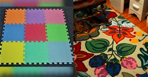 Playmat Rug by Playmat Rug Makeover Using Your Choice Of Paints And Design