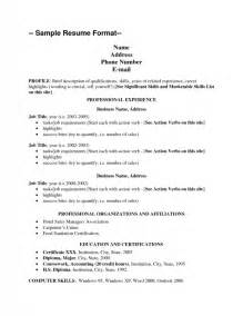 great skills to list on a resume sles of resumes