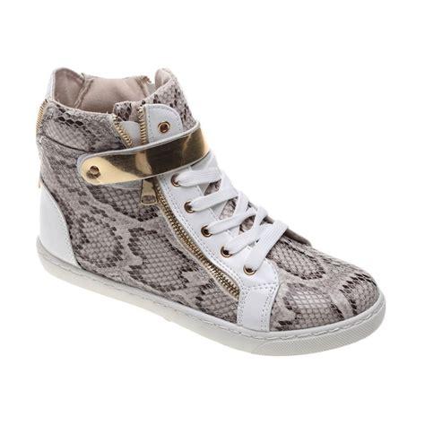 Shoes Sepatu Boots Anak Cuckoo dr kevin leather 6004 putih sepatu boot hippo store