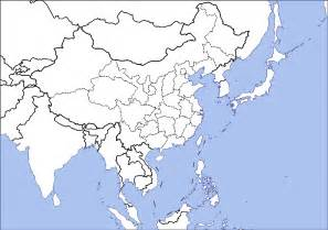 Outline Map Of China Korea And Japan by Blank Map Of Japan And China
