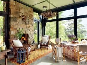 cabin decor in rustic style the home decor ideas