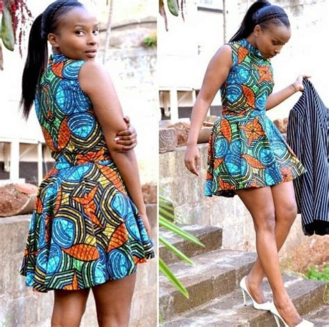 latest short gown ankara styles ankara short gowns check out this simple ankara styles