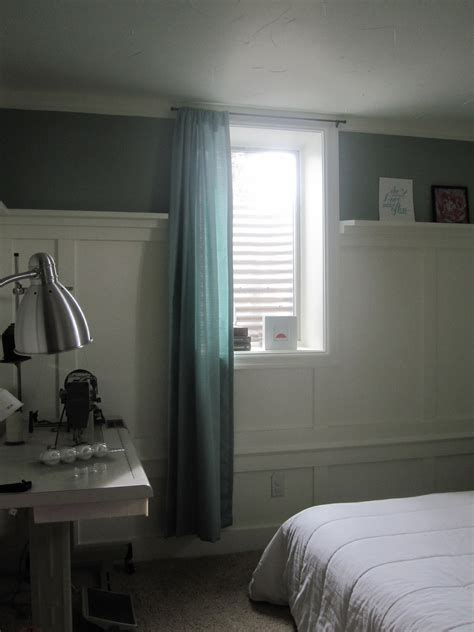 Small Window Curtains For Bedroom | small window curtains for bedroom with nice green diy