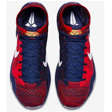 nike kobe  elite basket ball shoe red  blue buy nike