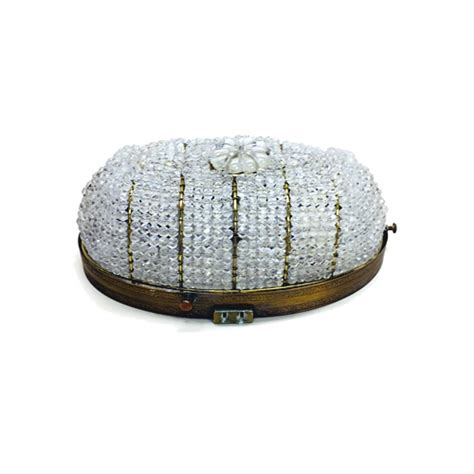 beaded flush mount light beaded basket flush mount ceiling fixture ls