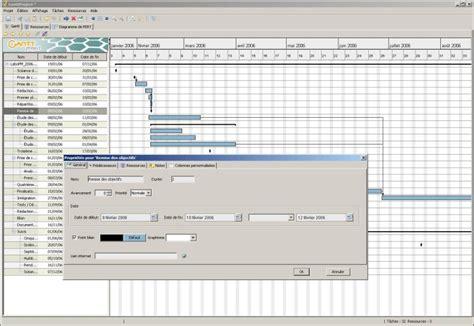 diagramme de gantt développement logiciel nalis contribue au projet open source ganttproject web