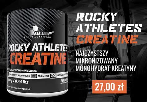 creatine athletes rocky athletes creatine 200g suplementy pl