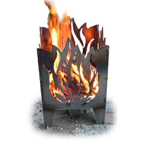 feuerschale flammen feuerkorb svenskav 171 flamme 187 stahl terrassenfeuer