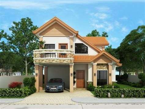 Floor Plan For Two Storey House In The Philippines 4
