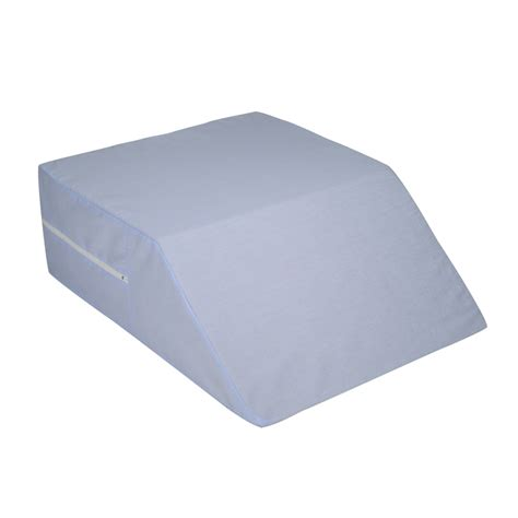 bed wedge pillow cover shop dmi 20 in x 24 in foam square bed wedge pillow at