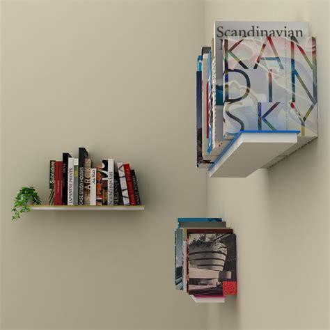 porta libri mimetic set di 3 mensole muro a scomparsa porta libri