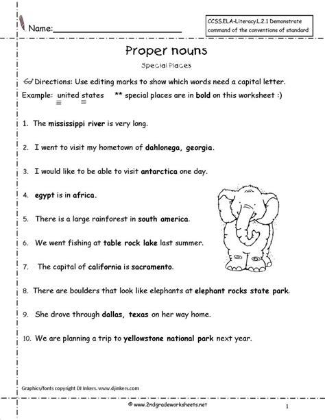 Common Worksheets