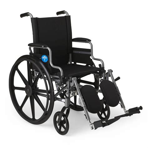 wheel chairs medline k4 basic lightweight elevating