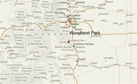 woodland park colorado map pin castle rock co top view of park in 2 on