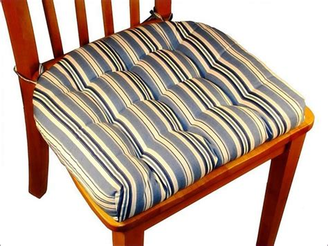 Tie On Cushions For Dining Chairs How To Make Your Own Chair Pad Cushions Dining Room Chair Cushions With Ties
