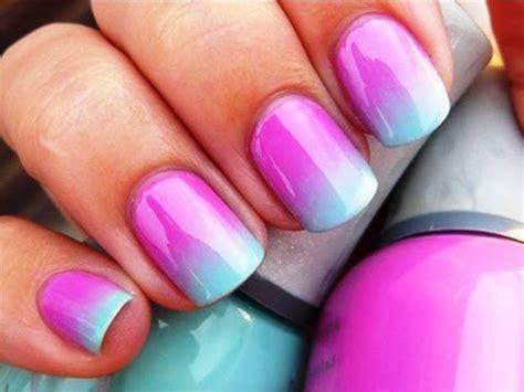ombre nail design ombre nail art design cute pinterest