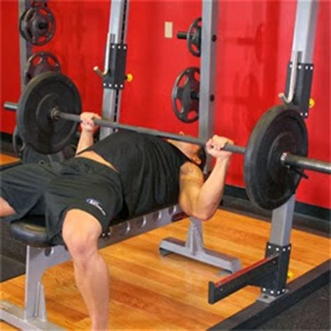 exercise science and fitness training the bench press