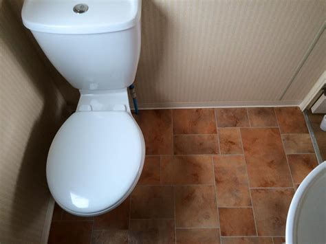 bathroom floor repair caravan bathroom floor repair towyn north wales mike