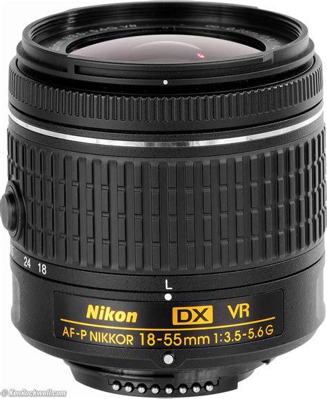 Lensa Nikkor Af P 18 55mm F3 5 5 6g Vr For Nikon Dslr nikon 18 55 mm f 3 5 5 6g vr af p dx nikkor lens for