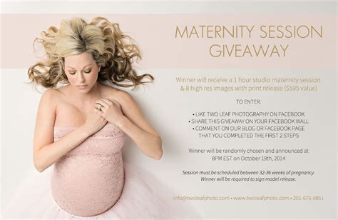 Photography Giveaway - maternity session giveaway with two leaf photography bay area family photographer