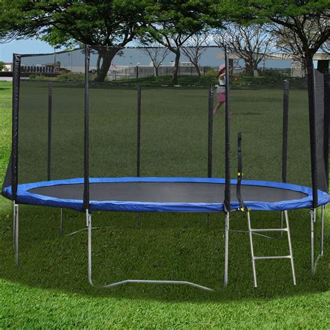 15 Foot Troline Mat by New 16ft Troline Combo Bounce Jump Safety Enclosure Net