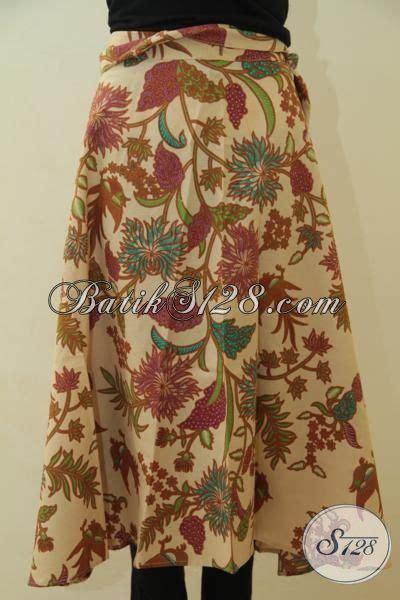 rok bagus model lilit bahan batik printing lasem lebih halus dan adem busana santai wanita muda