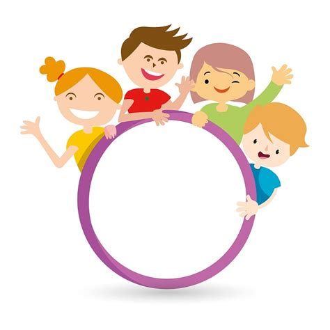 bambini immagini clipart free illustration friend circle the free