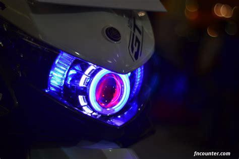 Lu Hid Motor Xeon Gt 125 90 modifikasi motor soul gt egle eye contoh