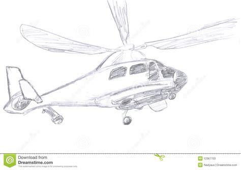 diagram sketch helicopter sketch stock illustration illustration of