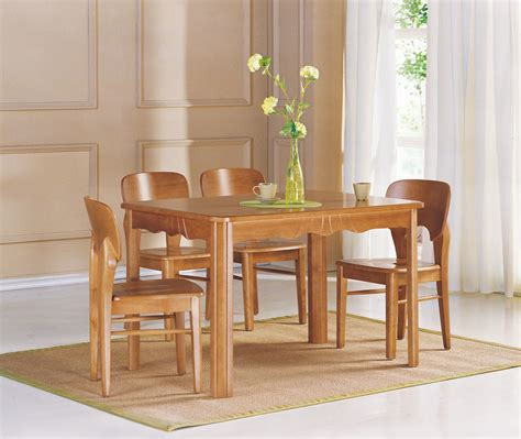 Wood Dining Room Furniture China Dining Room Furniture Dining Table Chair Wooden Furniture T806 C501 China Dining
