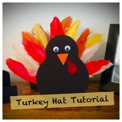 How To Make A Turkey Out Of Construction Paper - 10 thanksgiving hats for to make tip junkie