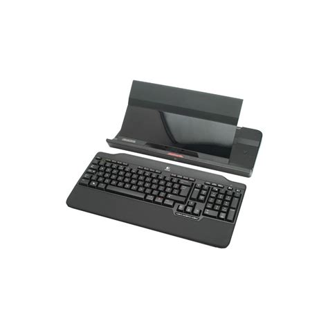 Usb Hub Logitech cordless notebook stand includes keyboard and usb hub