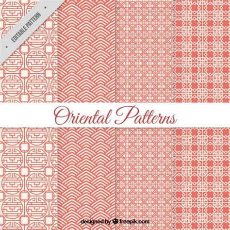 oriental pattern vector free download geometric oriental patterns vector free download