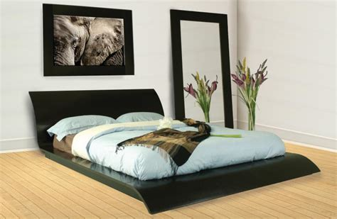 Bed Frame Idea Modern Platform Bed Frame Design Plans Ideas