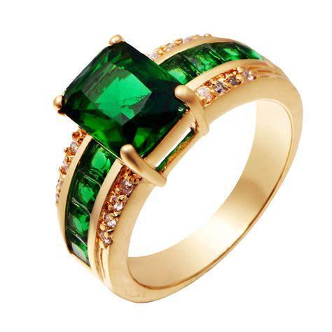 get cheap mens emerald rings aliexpress