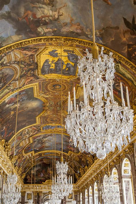 Versailles Ceiling by Versailles Ceiling Photograph By Brian Jannsen