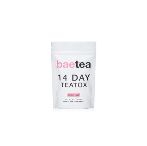 Baetea 14 Day Detox Reviews by Baetea Slimming Tea Review