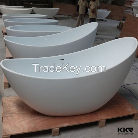 egg shaped bathtub freestanding hot tub solid surface egg shaped bathtub bathroom by kingkonree