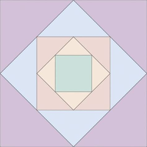Square Block Quilt Patterns by Square Upon Square Quilt Block Howstuffworks