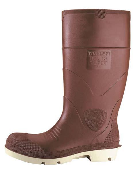 rubber boots steel toe tingley rubber premier steel toe boot premier boot w