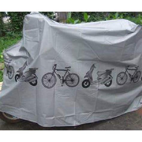 Cover Motor Matic Surabaya cover sarung pelindung sepeda dan motor matic gray