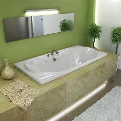 42 inch bathtub atlantis tubs 4272w whisper 42 x 72 x 23 inch rectangular soaking bathtub beyond