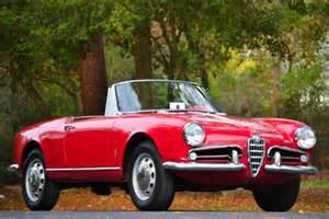 Alfa Romeo 1962 1962 Alfa Romeo Spider Information And Photos Momentcar