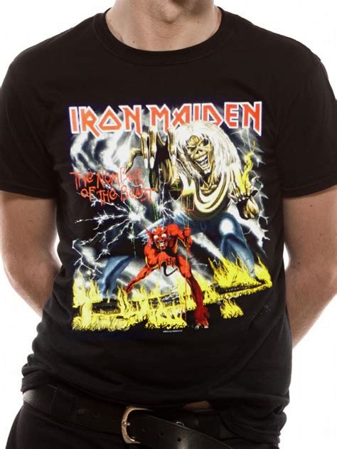 T Shirts Iron Maiden 106 iron maiden number of the beast t shirt preview